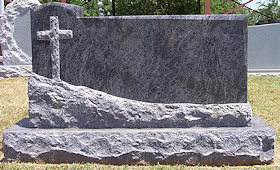 Granite Monument from Memorial Monuments